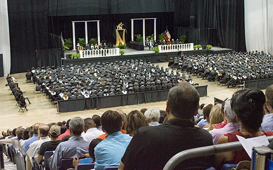 High School Graduations At The Alamodome May June 2015 Alamodome